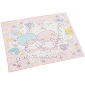 小禮堂 雙子星 日製 棉質 便當包巾 餐巾 桌墊 手帕 桌巾 43x43cm (粉白 盪鞦韆) 4973307-47554