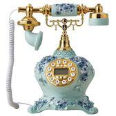 創意時尚仿古電話機家用辦公歐式固定座機復古老式電話機 古梵希igo
