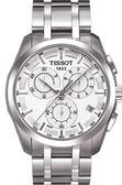 ◆TISSOT◆ COUTURIER 建構師 三眼計時腕錶 T035.617.11.031.00 白面