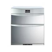 (含標準安裝)櫻花落地式熱風循環臭氧殺菌高68cm(與Q7592B同款)烘碗機銀色Q-7592B