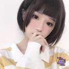 短假髮 姬髮式假髮女短直髮自然逼真圓臉日...