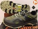 MERRELL Gore-Tex 進化版橡膠大底 登山鞋/ 郊山鞋~ML033705 (男) 買就送排汗透氣襪