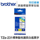 Brother TZ-231/TZe-2...