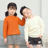 兒童裝男童毛衣套頭女孩小童冬高領韓版打底衫 奇思妙想屋