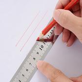鋼尺 直尺 鐵尺 長尺 短尺 測量 刻度尺 雙面 可掛式 15cm 雙面不鏽鋼直尺【P496】生活家精品