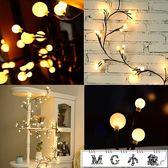 MG 聖誕節飾品-房間臥室裝飾led樹枝藤條彩燈閃燈串燈滿天星