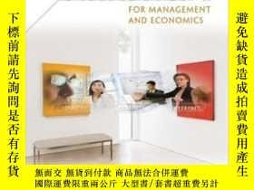二手書博民逛書店Statistics罕見For Management And EconomicsY256260 Gerald