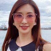 HELEN KELLER 林志玲代言 H8707 (玫瑰金) 貓眼 太陽眼鏡 久必大眼鏡