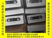 二手書博民逛書店專業音響磁帶:電影電視音響資料罕見第三集(10盒)各種 知了,青