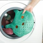 ♚MY COLOR♚卡通款加厚護洗袋 居家 洗衣機 衣物 懸掛 手提 網袋 清潔 多功能 收納 洗衣袋 【J112】