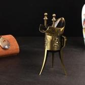 仿古酒具擺件漢代三足古代酒樽