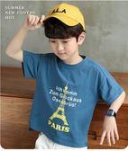 小象漢姆童裝男童短袖T恤兒童夏天半袖體恤衫2019夏裝新款中大童