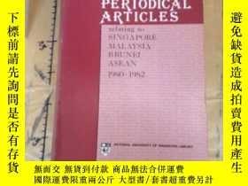 二手書博民逛書店INDEX罕見TO PERIODICAL ARTICLESY11