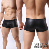 性感衣褲  VENUS 威猛鳥兒 SM仿皮性感情趣平角內褲