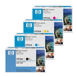 HP㊣原廠碳粉匣 C9721A藍色C9722A黃色C9723A紅色 單支顏色任選 適用 HP CLJ4600/CLJ4650/CLJ-4600/CLJ-4650 印表機