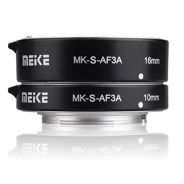 【聖影數位】Meike 美科 MK-S-AF3A SONY 微距 近攝接寫環 A7 NEX A6000 金屬版 公司貨
