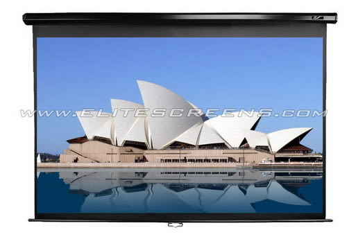 【名展音響】億立 M120UWV2 投影機專用布幕 標準型手拉幕  另售PVMAX120UWV2