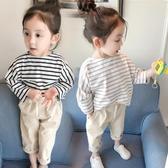 2019新款女童裝秋裝長袖T恤女寶寶打底衫兒童春秋純棉上衣1-2-3歲Mandyc