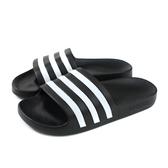 adidas ADILETTE AQUA 拖鞋 防水 黑色 女鞋 G28723 no769