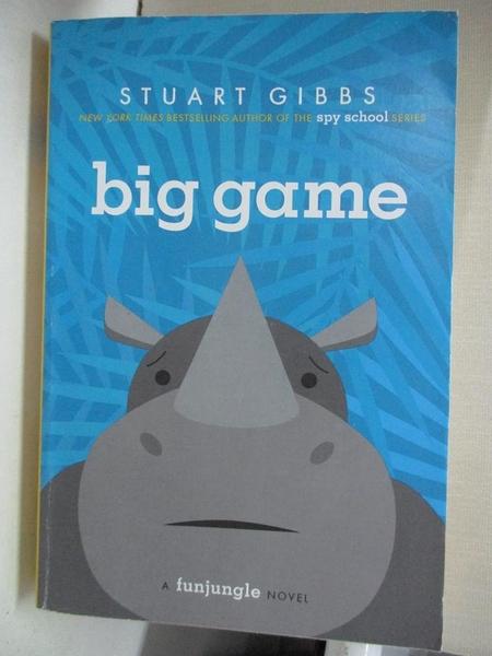 【書寶二手書T1/原文小說_HH1】Big Game_Gibbs, Stuart