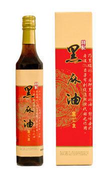 祥記~頂級黑麻油500ml/罐