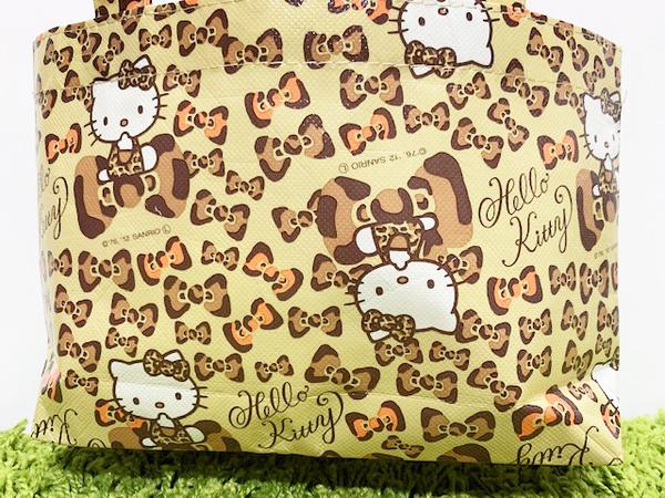 【震撼精品百貨】凱蒂貓_Hello Kitty~日本SANRIO三麗鷗 KITTY 手提購物袋/環保袋-豹紋#11709