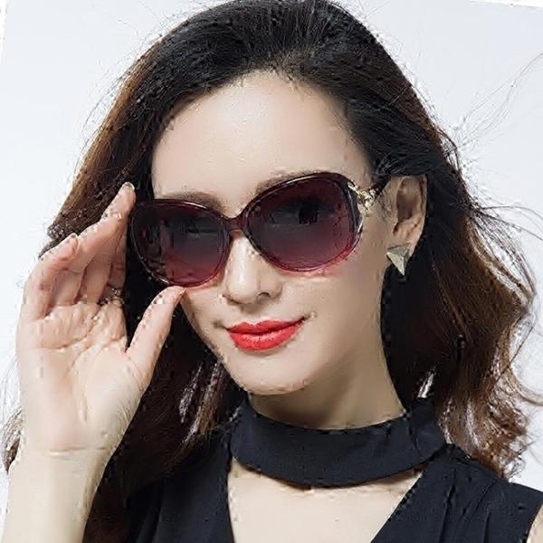 太陽鏡圓臉女士墨鏡女潮防紫外線gm眼鏡