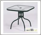 {{ 海中天休閒傢俱廣場 }} G-52 戶外時尚 鋁合金桌椅系列 60-10 90cm方桌(全鋁)