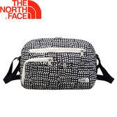 【The North Face 13L 側背包《黑色印花》】2SAL/側背包/肩背包/斜背★滿額送