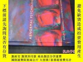 二手書博民逛書店ABNORMAL罕見PSYCHOLOGY 變態心理學 英文 16開精裝Y6713 PHILIP C. KEND