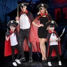 萬圣節兒童服裝親子裝cos男女童表演出服成人海盜死神斗篷幼兒園 解憂