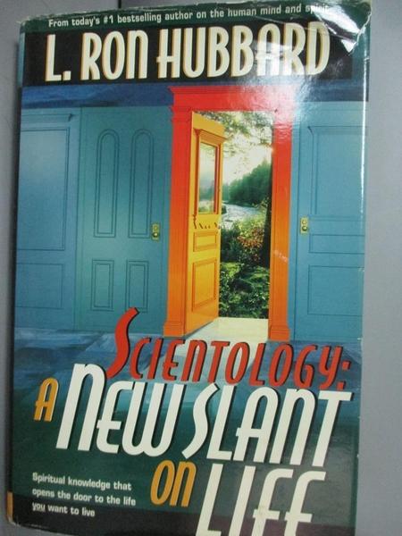 【書寶二手書T7/原文小說_PMH】A New Slant on Life_Hubbard, L. Ron