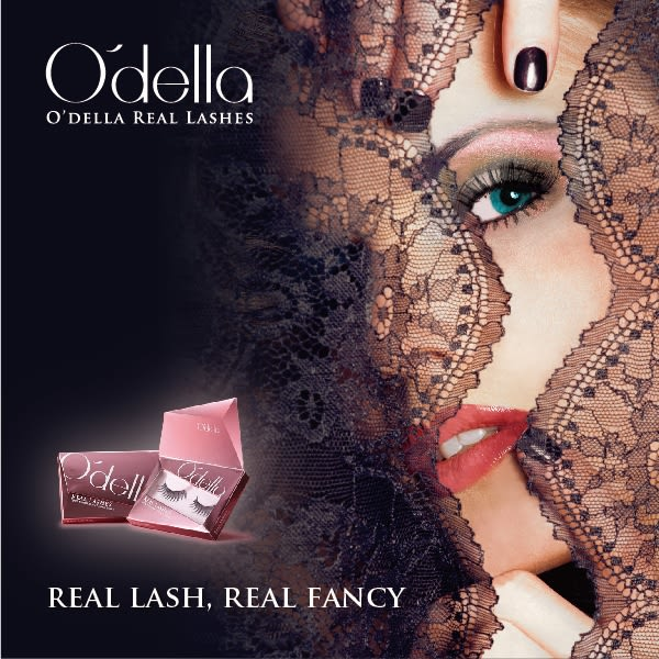O`della 奧.黛菈 玩美心機防暈眼線筆-黑