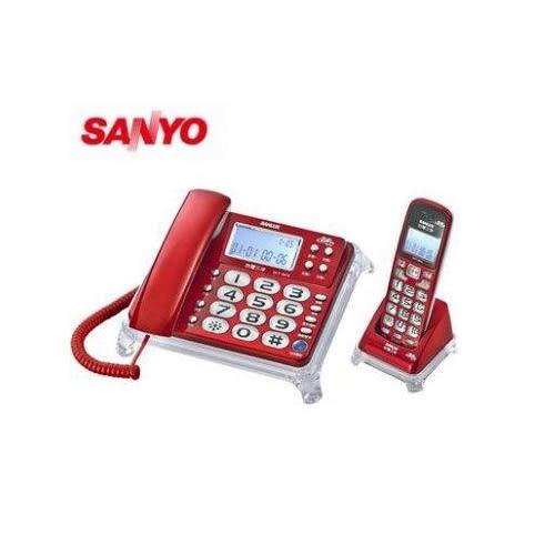 SANLUX數位報號無線親子機DCT-8915(紅)