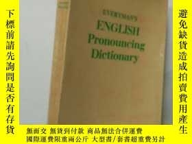 二手書博民逛書店EVERYMAN S罕見ENGLISH Pronouncing