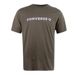 CONVERSE 男款運動短袖 咖啡色系 -NO.10017455-A10