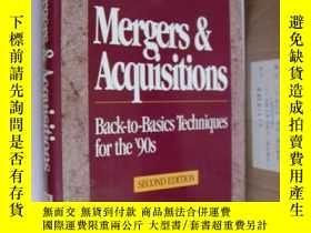 二手書博民逛書店Mergers罕見& Acquisitions 《合併與兼併》