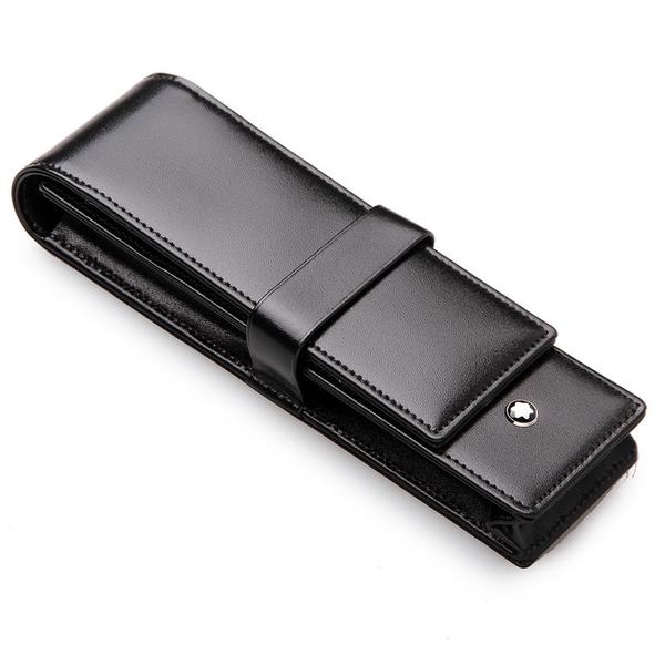 MONTBLANC Siena Pen Cases 真皮雙支筆套/30302