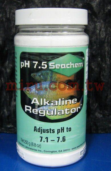 【西高地水族坊】美國原裝進口 西肯Seachem 淡水酸鹼值pH提升劑250g