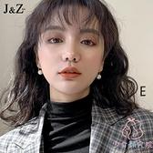 耳環珍珠耳釘韓國氣質耳墜女純銀高級感耳飾品【少女顏究院】