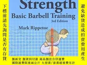 二手書博民逛書店Starting罕見Strength, 3rd EditionY307751 Mark Rippetoe Th