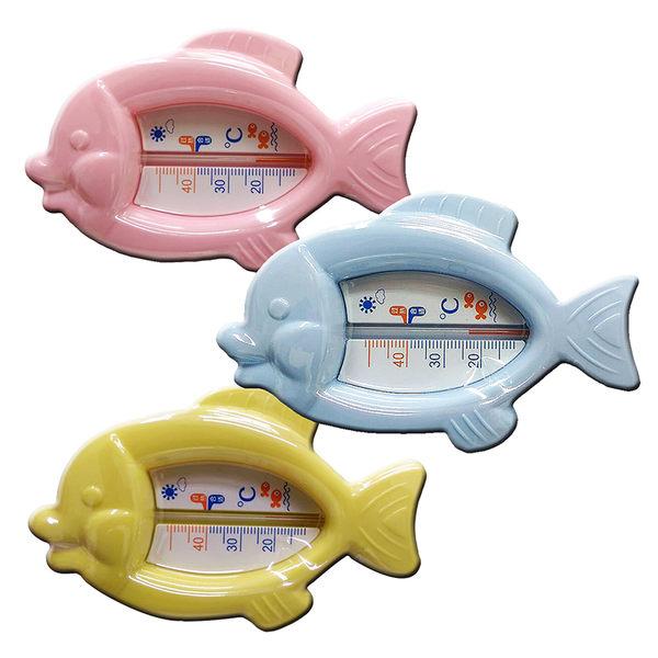奶瓶家族 - 嬰兒魚形水溫計(顏色隨機出貨)