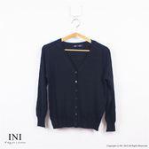 【INI】好評追加、專櫃高柔感波紋外套.黑色