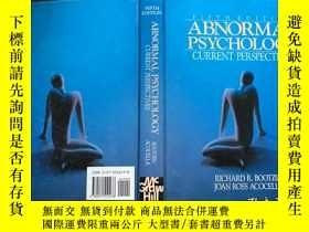 二手書博民逛書店Abnormal罕見Psychology: Current Pe