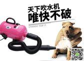 寵物吹風機 韻安寵物吹水機狗狗吹風機大功率靜音大型犬金毛貓咪家用烘干吹毛 igo阿薩布魯