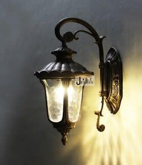 設計師美術精品館室外防水歐式壁燈 花園小區庭院牆挂燈戶外 別墅門口圍牆陽台壁燈