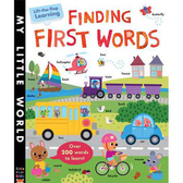 Finding First Words Lift-The-Flap Learning 我的第一本單字書 精裝翻翻書