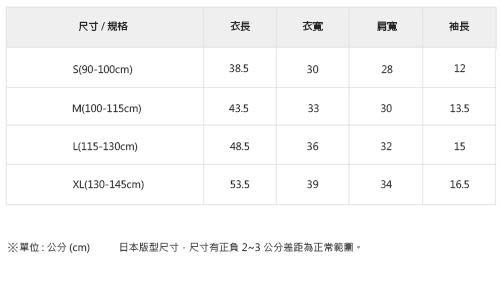 CHUMS 日本 童 Booby圓領短袖T恤 深藍 CH211034N001