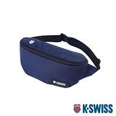 K-SWISS KS Patch Waist Bag運動休閒腰包-藍