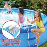 游泳池 INTEX充氣游泳池兒童家用戲水池超大號加厚小孩水上樂園寶寶泳池免運 Igo